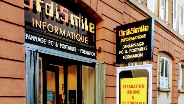 Foto di R%E9paration IPhone Strasbourg %26 PC Portable %3A Ordismile di Strasburgo  Basso Reno  Grande Est  Francia metropolitana  Francia