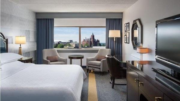 Foto di Sheraton Syracuse University Hotel %26 Conference Center di Syracuse  Onondaga County  New York  Stati Uniti d America