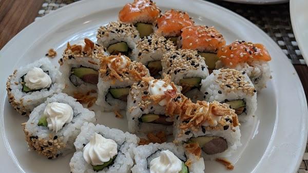 Foto di Mu Sushi di Madrid    rea metropolitana de Madrid y Corredor del Henares  Comunidad de Madrid         Spagna