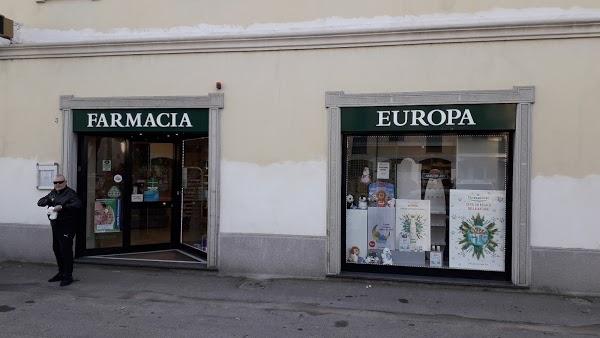 Foto di Farmacia Europa di Via Giuseppe Verdi  Limbiate  Provincia di Monza  Italia